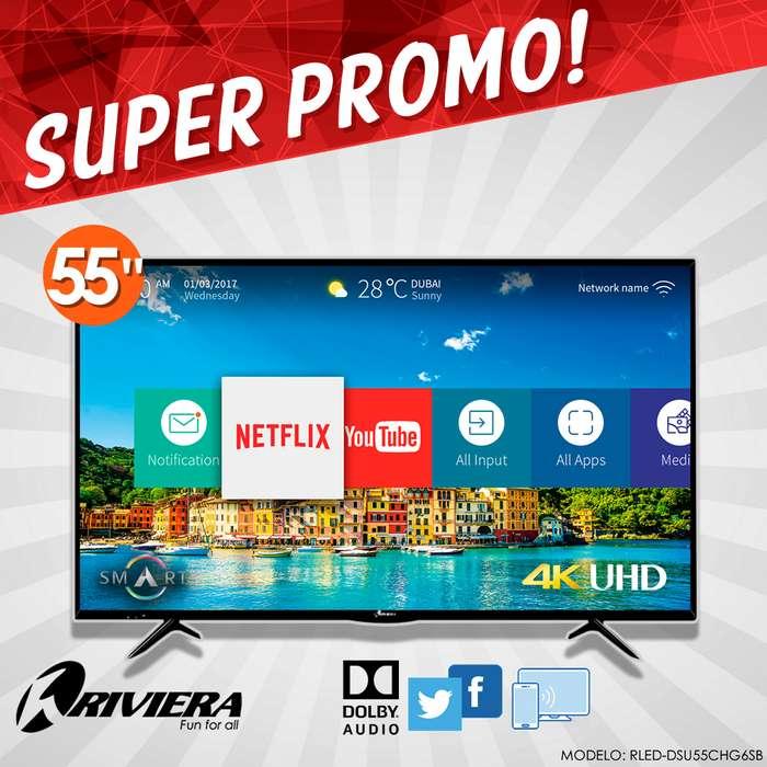 Televisor Riviera 55 Pulgadas Smart Tv Ultra Hd 4k Nuevo