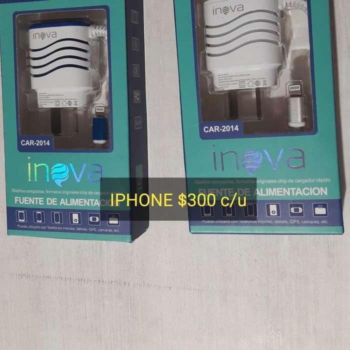 Cargadores iPhone