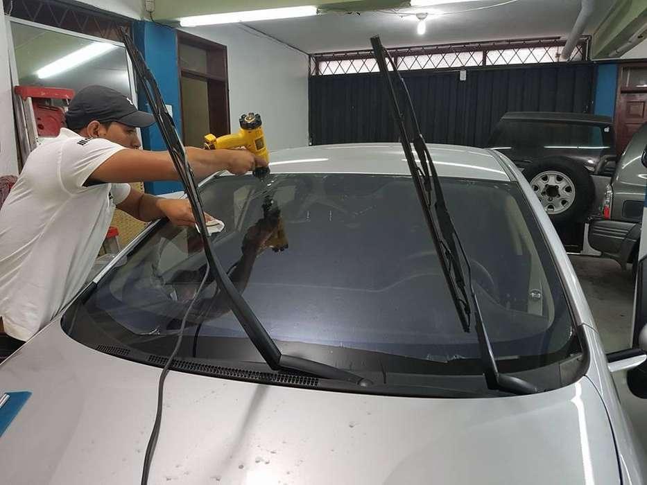 Laminas de Control solar parabrisas delantero