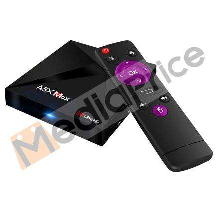 Smart TV Box A5X MAX 4GB 32GB Android Bluetooth WIFI
