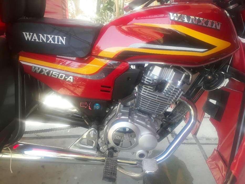 Moto Wanxin Nueva Recien Comprada