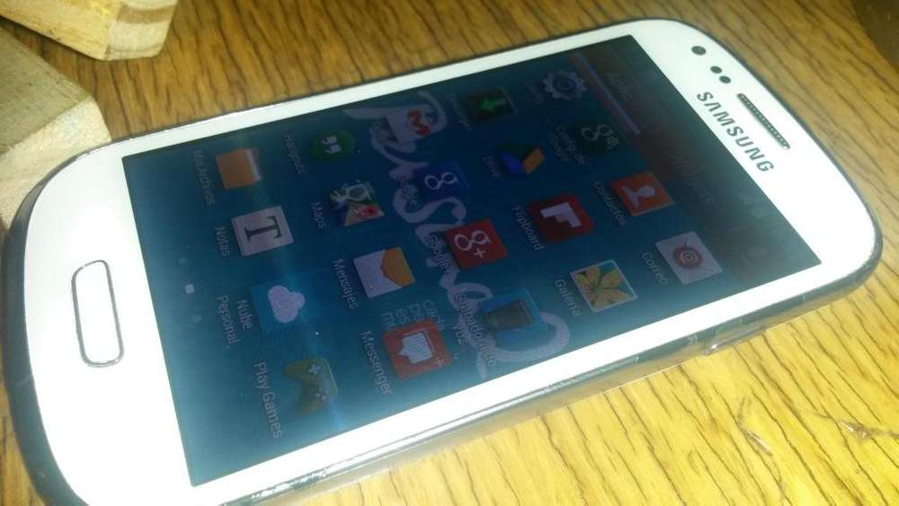 s3 mini liberado impecable