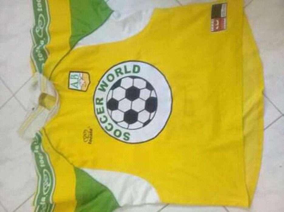 Camiseta Bucaramanga Original de Juego