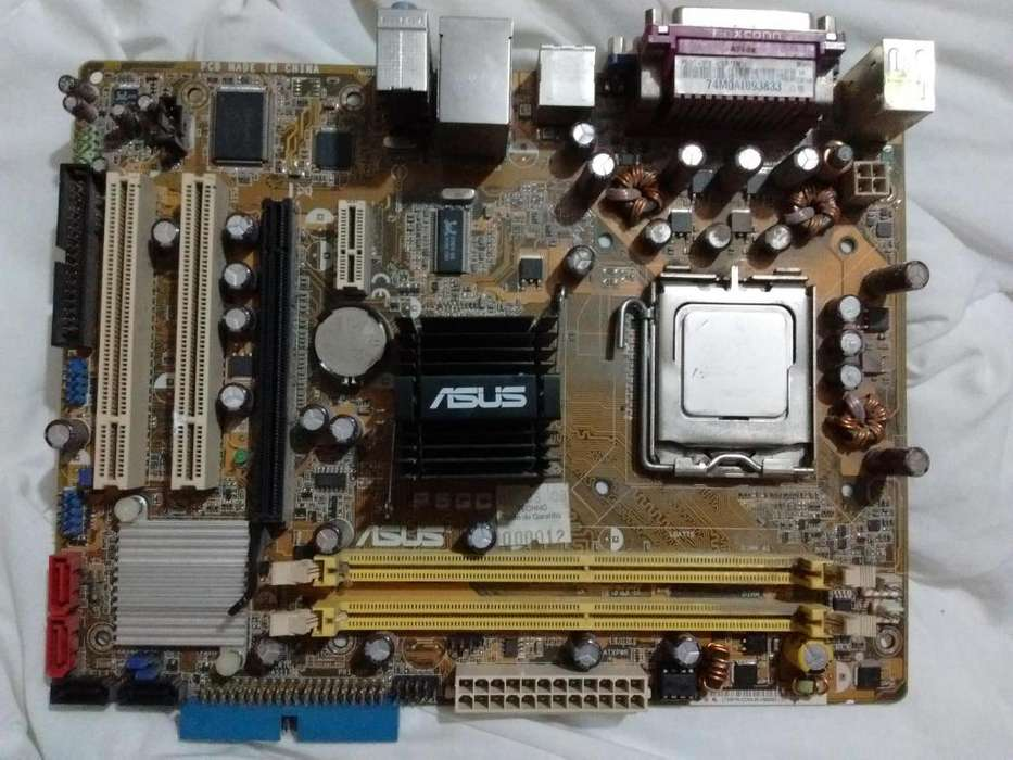 MotherBoard P5GC-MX E4400 2GHz (DDR2)