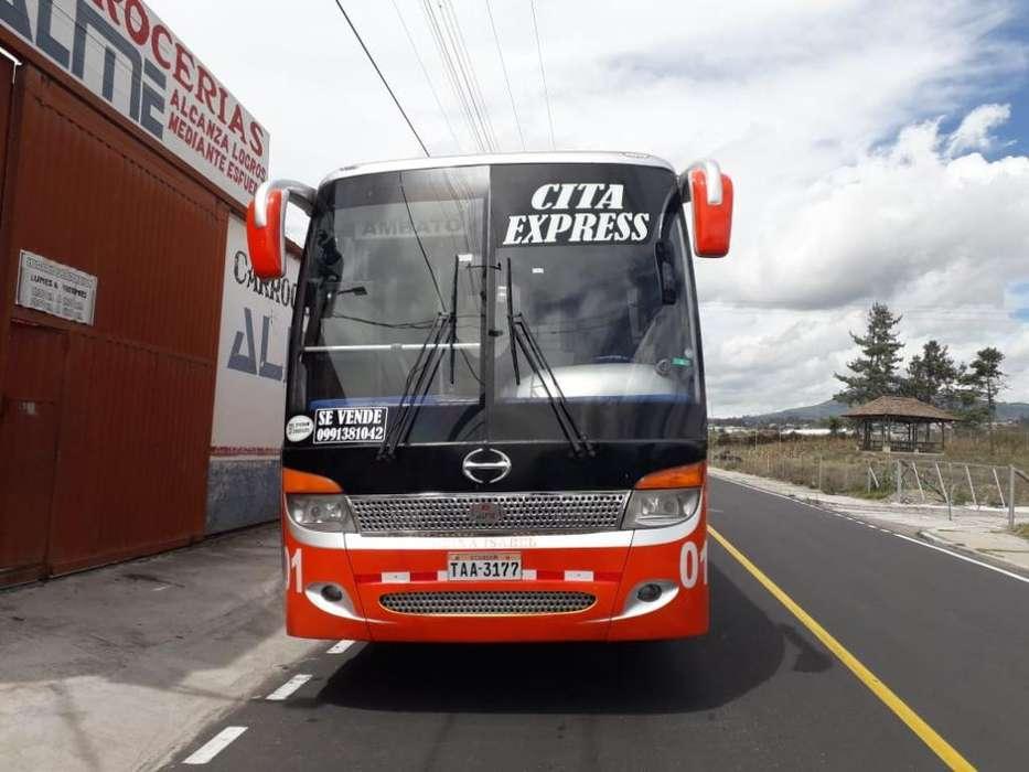 Vendo Flamante Bus Año 2014 Full Equipo