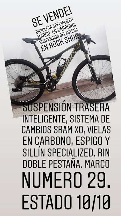 Bicileta Specialized 2014