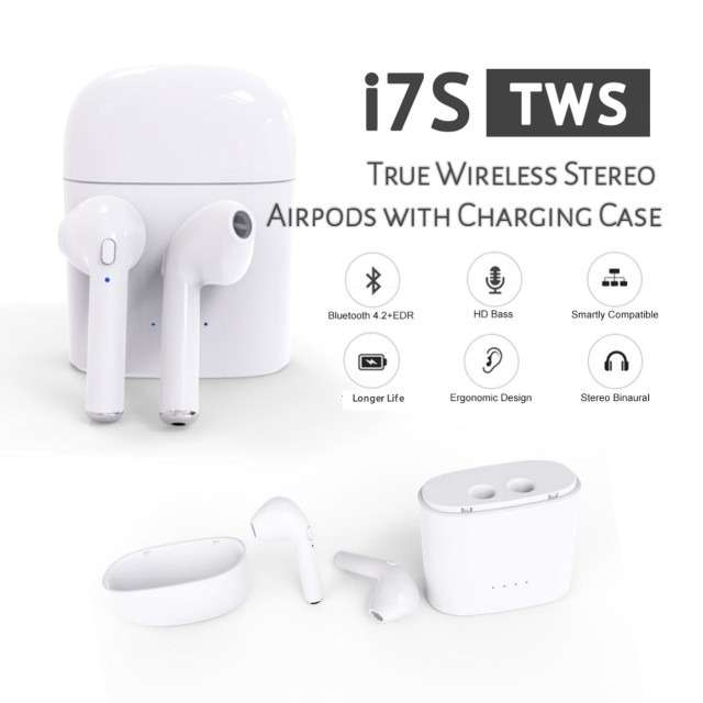 7821410742c Auriculares Bluetooth I7S TWS Con Base De Carga - Bahía Blanca