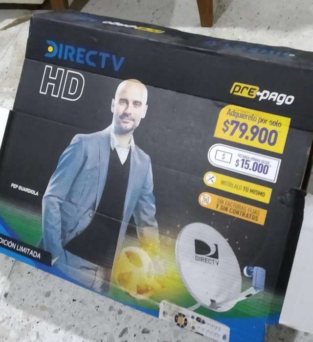 Antena Directv sin Deco