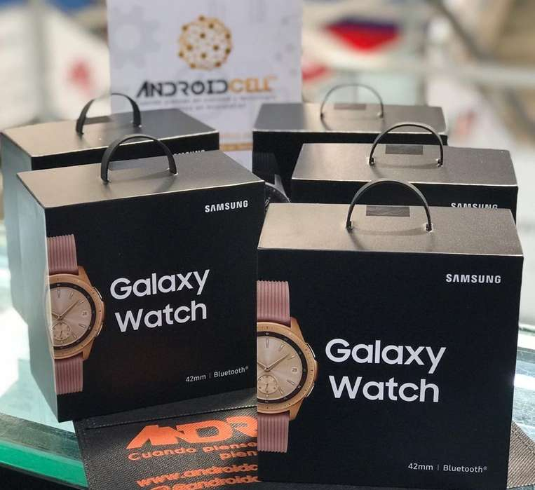 Samsung Galaxy Watch de 42mm Nuevos, originales y garantizados