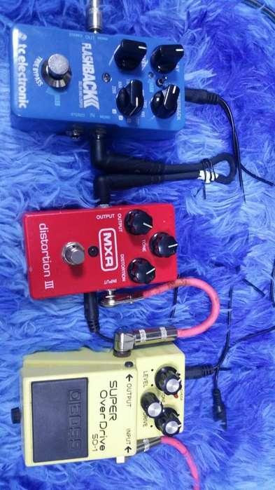 Pedales de Guitarra Electrica.