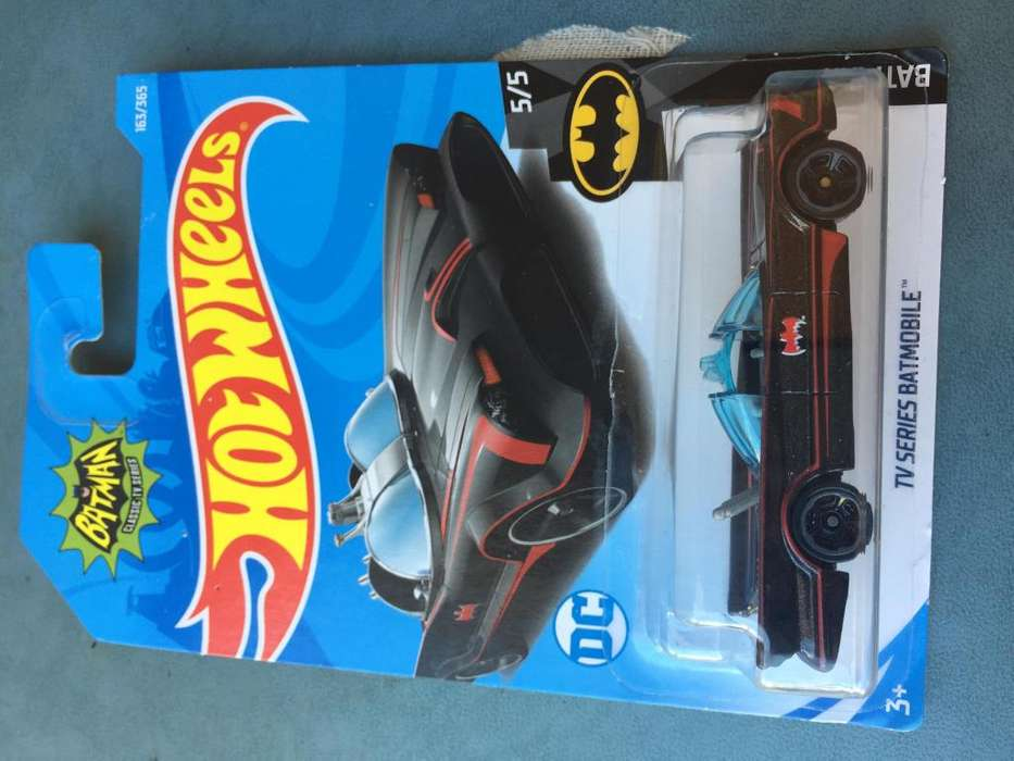 HOT WHEELS BATMOBILE TV SERIES