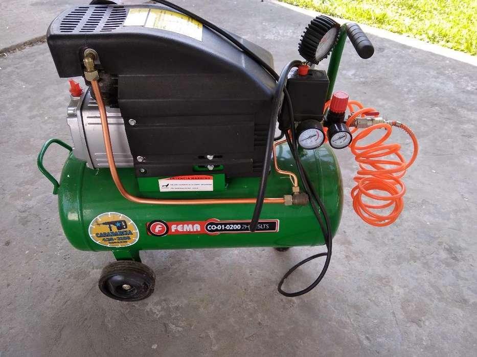 Compresor Aire 25 Lt 2 Hp