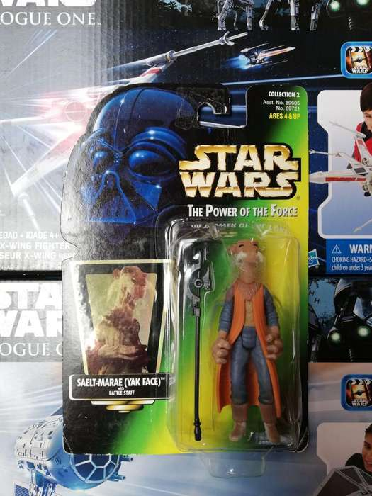 Star Wars The Power Of The Force - Saelt Mar - Figura Kenner