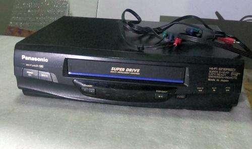 Reproductor VHS Panasonic Superdrive, 6 cabezas perfecto estado- GANGA