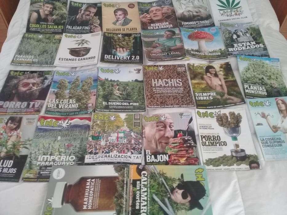 Lote Revistas THC Haze