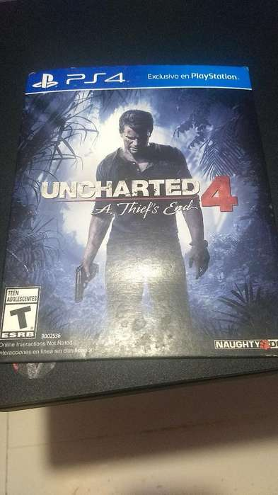 Uncharted 4 Ps4 Juegaso
