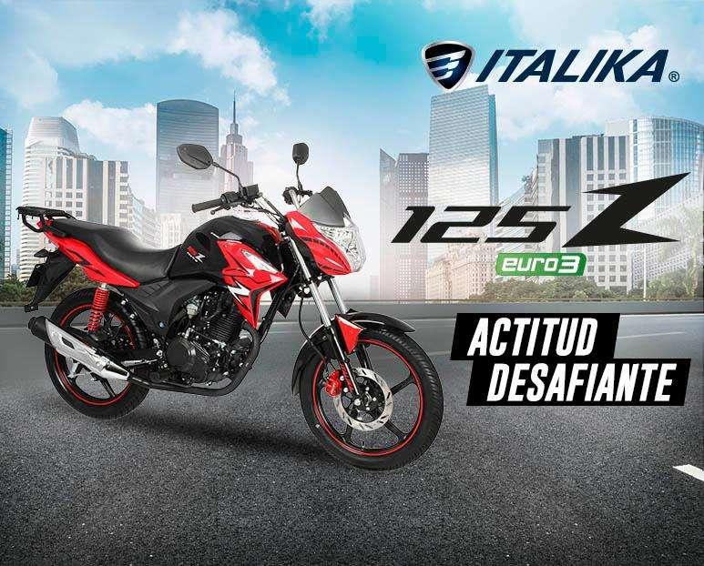 Moto Italika 125 Z