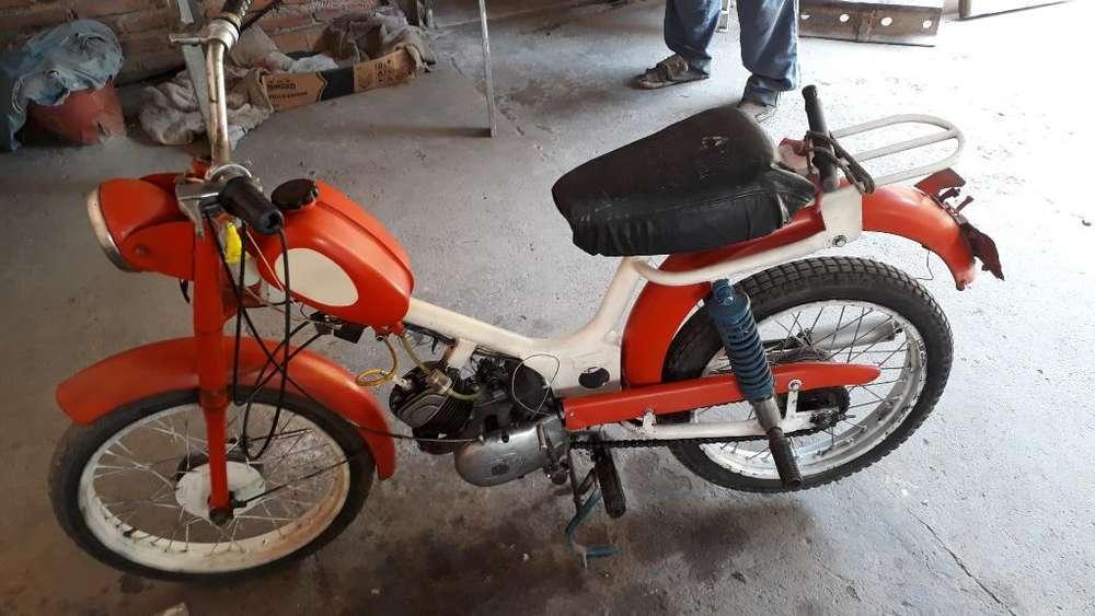 Vendo <strong>moto</strong> Antigua Zanella Bambina