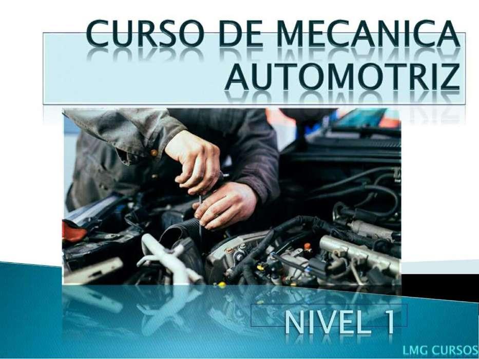 Curso de Mecanica Automotriz nivel 1 3x1