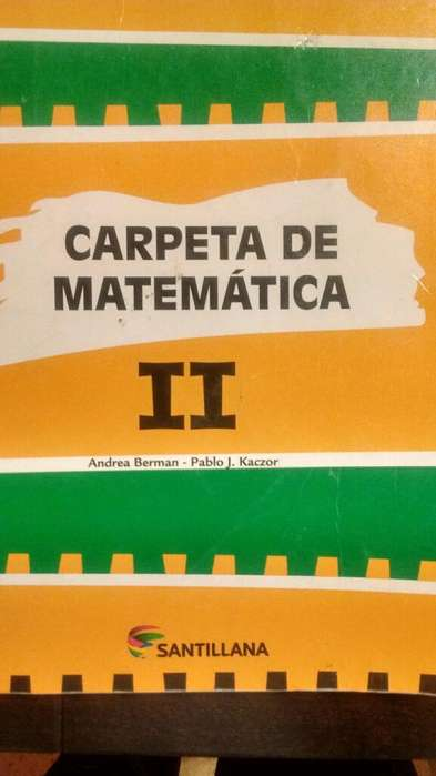Carpeta de Matemática II