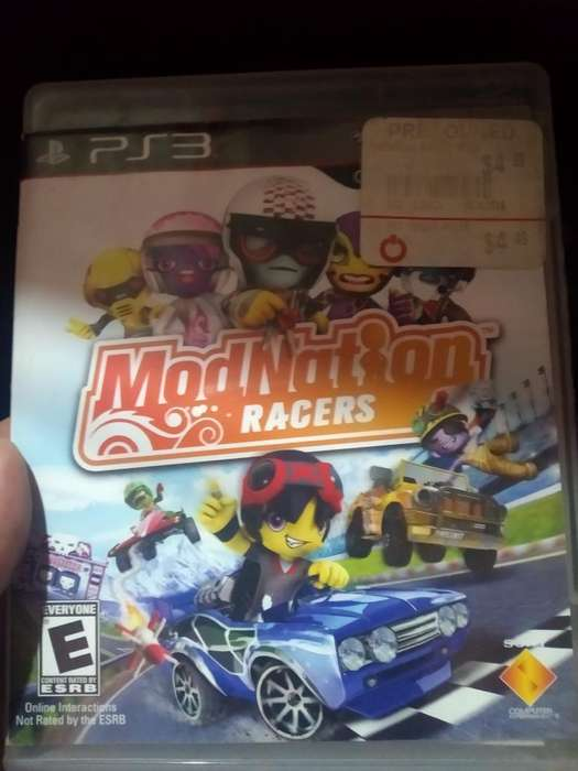 Modnation Racers Play 3 Ps3