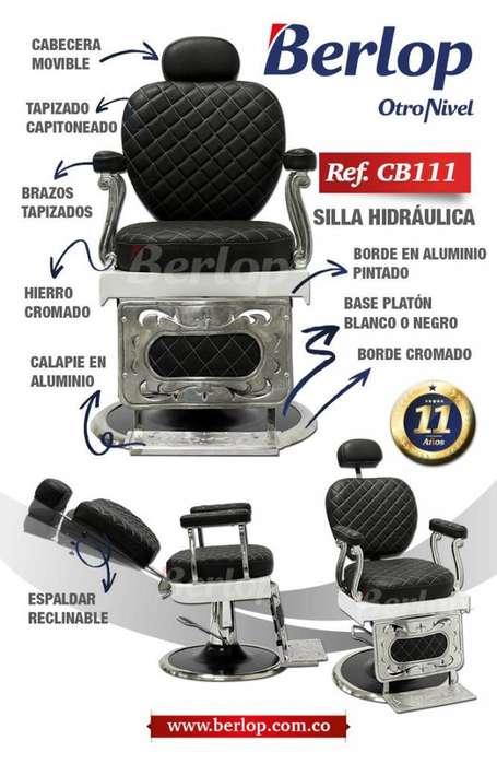 Silla barbería CB111