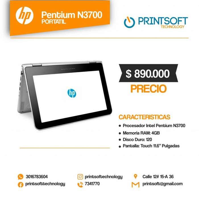 PORTÁTIL hp PENTIUM N37000