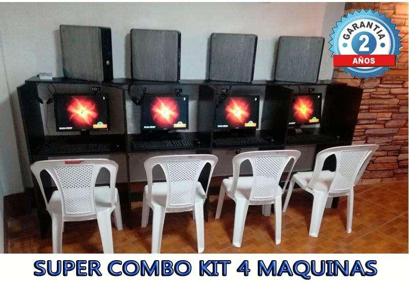 SUPER PROMO KIT 4 MAQUINAS CORE2DUO TODO POR 849