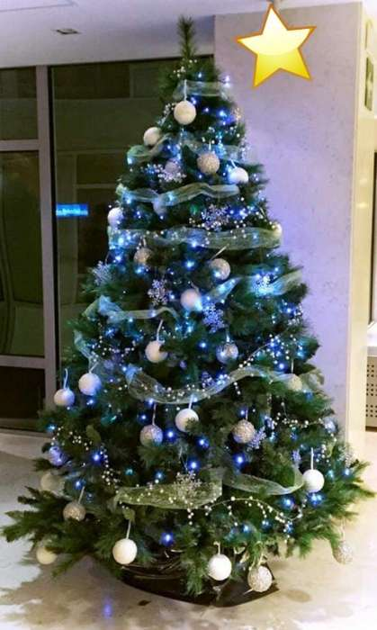 Ganga Arbol de Navidad