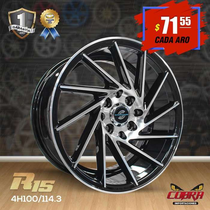 PROMO Aros Rin 15 Chevrolet Aveo Family Hiunday Honda51321654