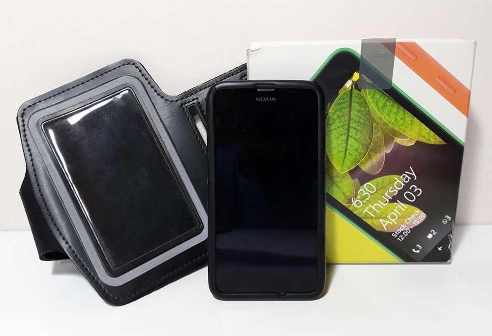 Para Repuesto - Celular Nokia Lumia 630. Vibra pero no enciende. Incluye accesorios varios. Sin cargador. Envíos