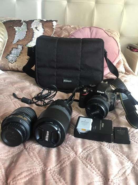 Camara Nikon 5100 Lentes Accesorios