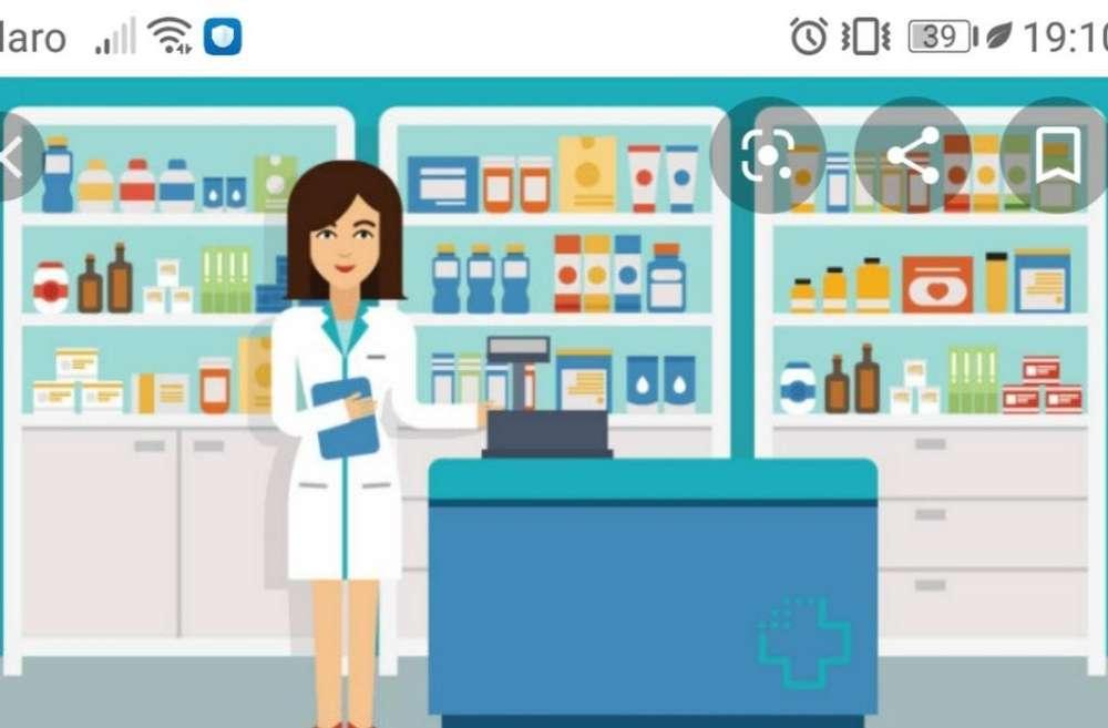 <strong>auxiliar</strong> Tecnica de Farmacia
