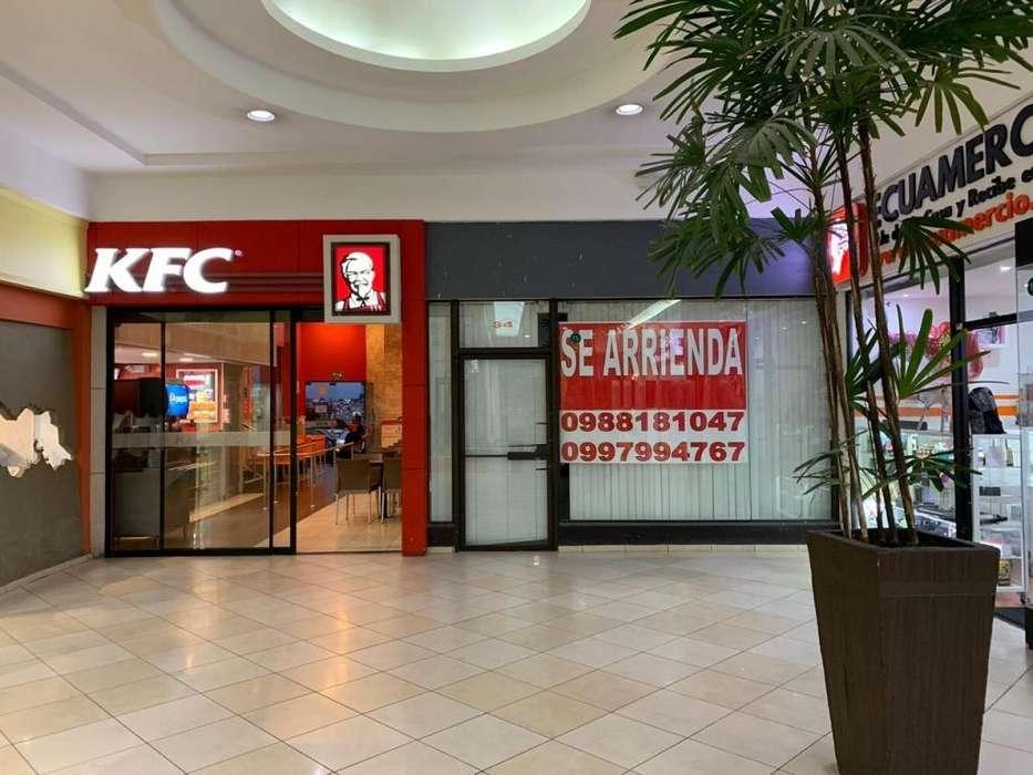 Arriendo local Centro Comercial El Bosque 139mts USD23,50xmetro