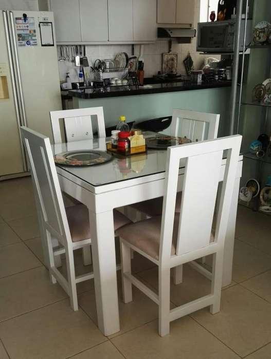 Vendo <strong>juego</strong> de muebles de sala comedor y mubles de jardin
