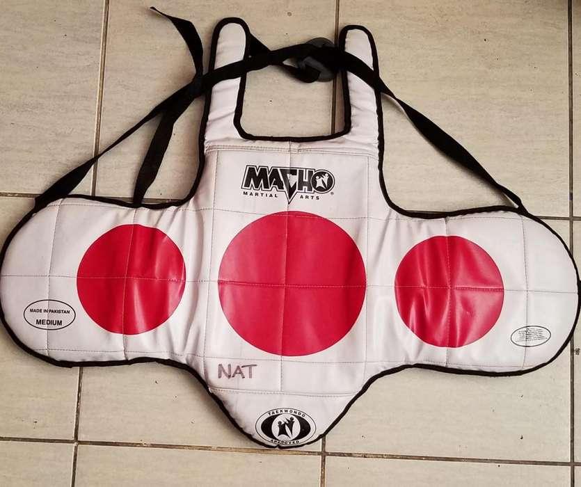 Peto Pechera para Taekwondo Talla M