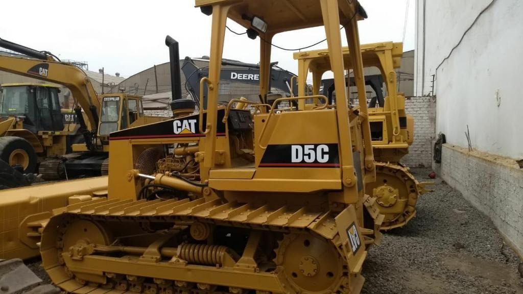 Tractor de Orugas caterpillar D5C