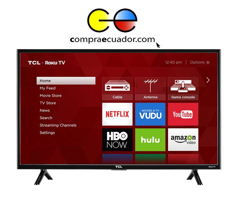 Tcl Televisor Led 43 Android Smart Tv Gratis Antena Soporte