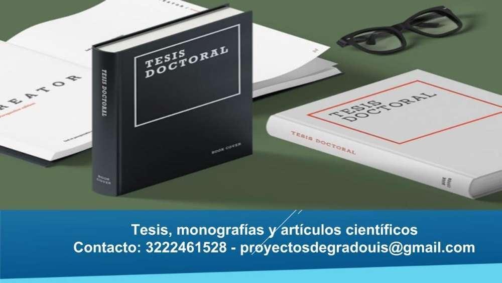 Asesoría Especializada Tesis Y Proyectos