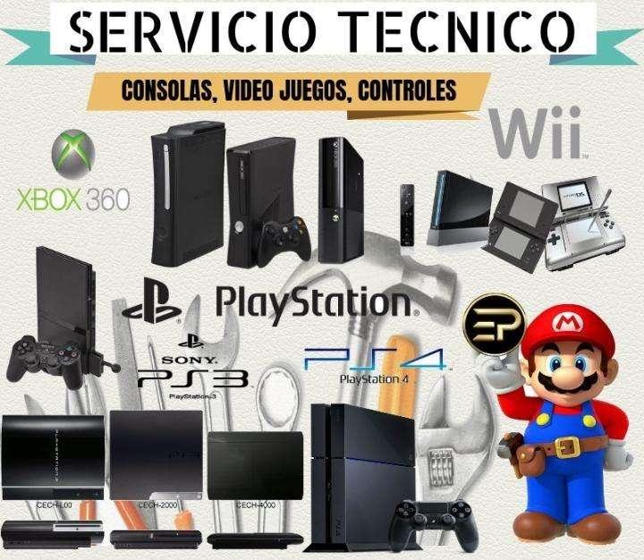 se arreglan consolas de video juegos