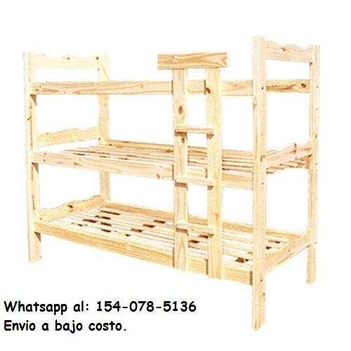 <strong>cama</strong> Cucheta Triple