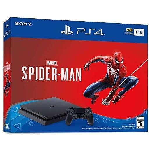 Ps4 slim 1 tb edicion spiderman