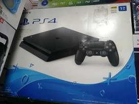 Consola PS4 slim de 1tb de segunda  con 1 control y juego
