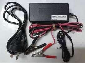 Cargador Inteligente Bateria Auto 12v 65 Amper Plomo