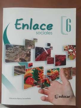 Libro Enlace 6 Ed. Educar