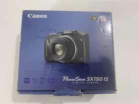 Vendo cámara POWER SHOT SX150IS