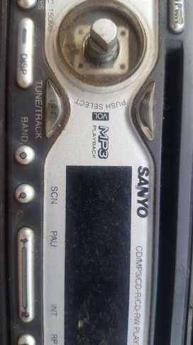 Stereo Auto Sanyo Dvd Mp3 Usado S/botonv