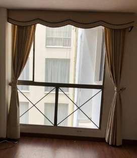 vendo cortinas con cenefa
