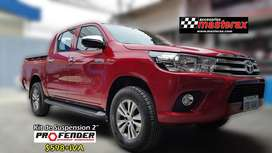 Kit de Suspension importado marca Profender para Toyota Hilux 4x2 - alza 5 cm