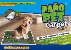 Paño Pet Carpet Mini - Bandeja sanitaria para interiores - perros